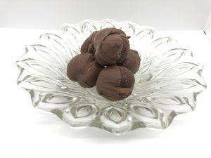 Nougat-Schokoladen-Plätzchen